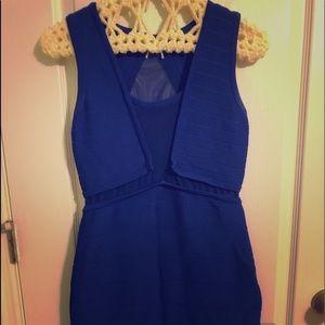 Blue Windsor dress